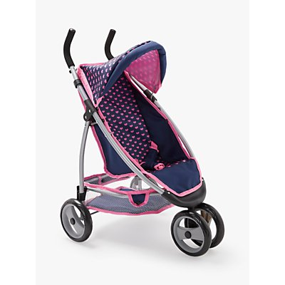 John Lewis & Partners Baby Doll Single Pushchair