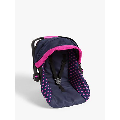 John Lewis & Partners Premium Baby Doll Car Seat