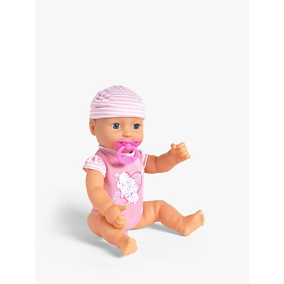 John Lewis & Partners Drink And Wet Baby Doll