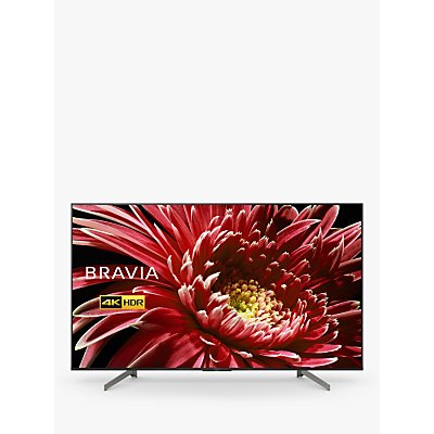 Sony Bravia KD65XG8505 (2019) LED HDR 4K Ultra HD Smart Android TV, 65 with Freeview HD & Youview, Black