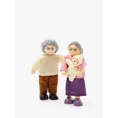 John Lewis & Partners Grandparents & Baby Doll Set