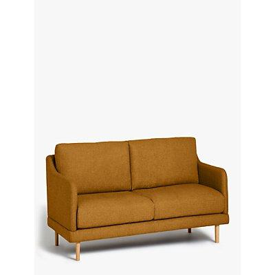 House by John Lewis Sweep Small 2 Seater Sofa, Light Leg