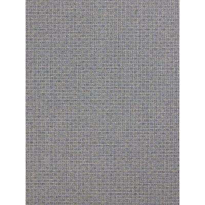 John Lewis & Partners Basket Weave Wallpaper, Storm / Steel