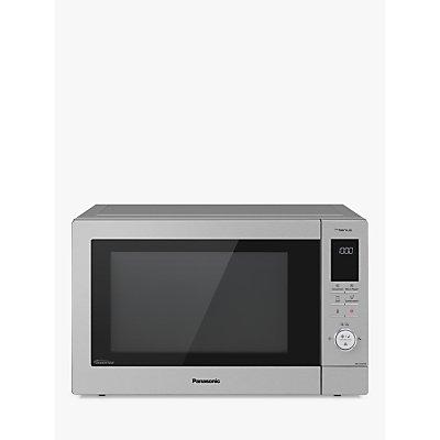 Panasonic NN-CD87KSBPQ 34L Slimline Combination Microwave Oven, Stainless Steel