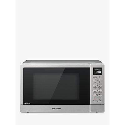 Panasonic NN-ST48KSBPQ Freestanding Microwave, Stainless Steel
