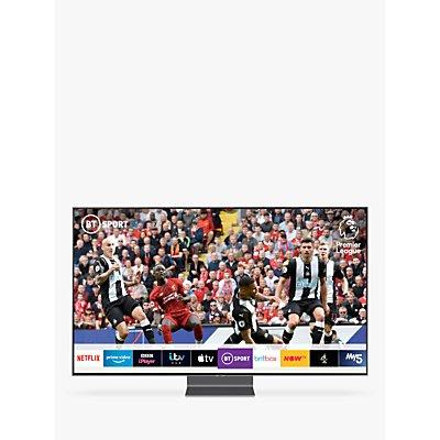 Samsung QE65Q90R (2019) QLED HDR 2000 4K Ultra HD Smart TV, 65 with TVPlus/Freesat HD, Carbon Silver