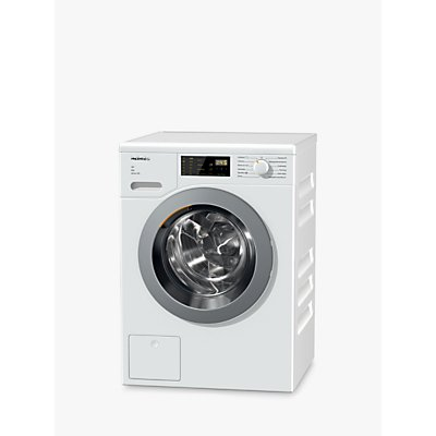 Miele WDD025 Freestanding Eco Washing Machine, 8kg Load, A+++ Energy Rating, 1400rpm Spin, White