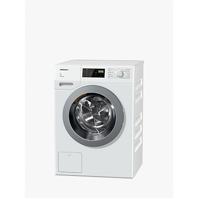 Miele WDD035 Freestanding Washing Machine, 8kg Load, A+++ Energy Rating, 1400rpm, White