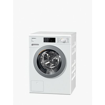 Miele WCG125 Freestanding Washing Machine, 9kg Load, A+++ Energy Rating, 1400rpm, White