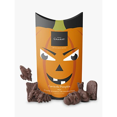 Hotel Chocolat Carvin' the Pumpkin Milk Chocolate Boo Box, 145g