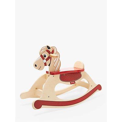 John Lewis & Partners Wooden Carousel Rocking Horse