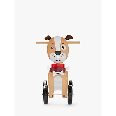 John Lewis & Partners Wooden Ride-On Dog