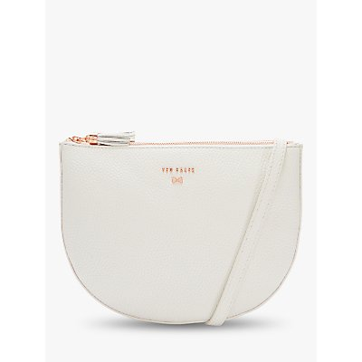 Ted Baker Suzzane Leather Double Zip Cross Body Bag