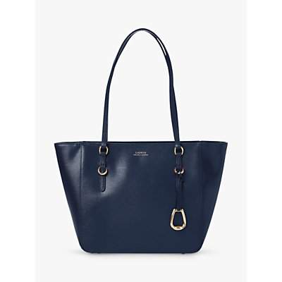 Lauren Ralph Lauren Bennington Leather Shopper Bag