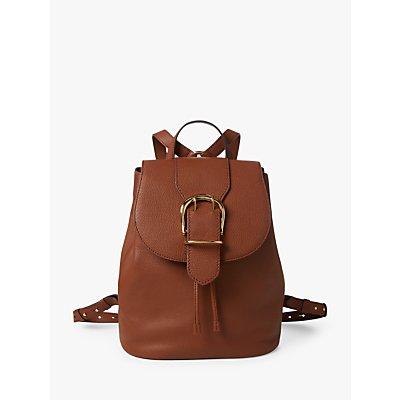 Lauren Ralph Lauren Cornwall Leather Backpack, Tan