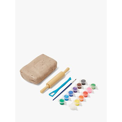John Lewis & Partners Make and Paint Pottery Set