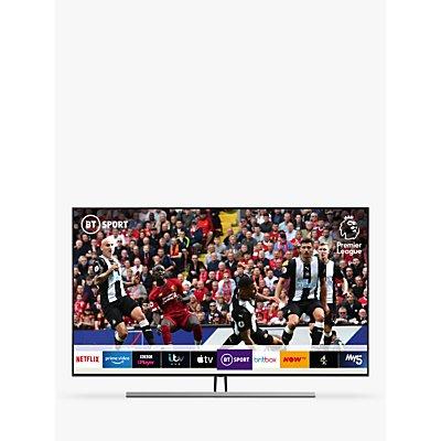 Samsung QE75Q85R (2019) QLED HDR 1500 4K Ultra HD Smart TV, 75 with TVPlus/Freesat HD, Carbon Silver