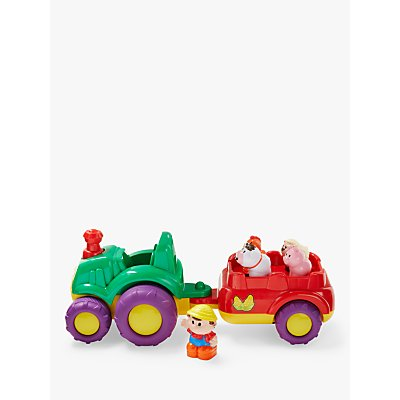 John Lewis & Partners Musical Farm Tractor and Trailer
