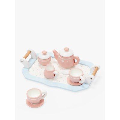 John Lewis & Partners Wooden Toy Tea Set