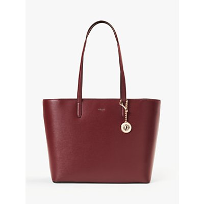 DKNY Bryant Large Carryall Tote Bag, Blood Red