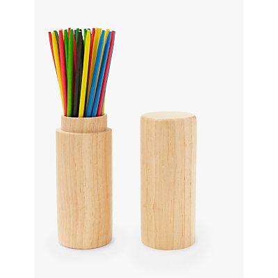 John Lewis & Partners Wooden Pick Up Sticks Game