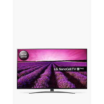 LG 55SM8600PLA (2019) LED HDR NanoCell 4K Ultra HD Smart TV, 55 with Freeview Play/Freesat HD, Cinema Screen Design, Dolby Atmos & Crescent Stand, Ultra HD Certified, Black & Dark Silver