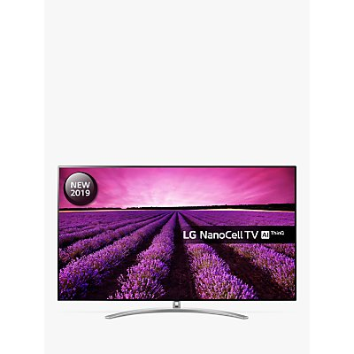 LG 55SM9800PLA (2019) LED HDR NanoCell 4K Ultra HD Smart TV, 55 with Freeview Play/Freesat HD, Cinema Screen Design, Dolby Atmos & Crescent Stand, Ultra HD Certified, Black & Dark Silver