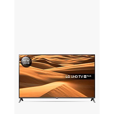 LG 55UM7510PLA (2019) LED HDR 4K Ultra HD Smart TV, 55 with Freeview Play/Freesat HD, Ultra HD Certified, Black & Titan