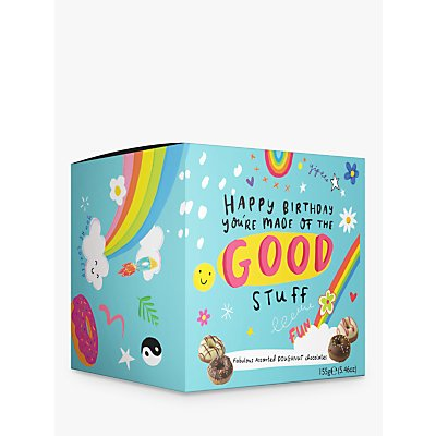 Happy News Happy Birthday Chocolate Doughnuts, 155g