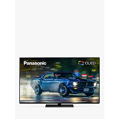 "Panasonic TX-55GZ950B (2019) OLED HDR 4K Ultra HD Smart TV, 55"" with Freeview Play & Dolby Atmos, Ultra HD Premium Certified, Graphite & Black"