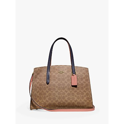 Coach Signature Charlie Carryall Tote Bag