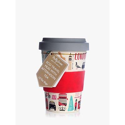 Milly Green London Adventures Eco Travel Mug and 10 Tea Bags - 5060475159752