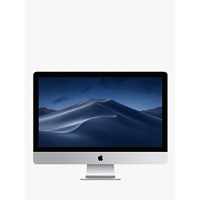 "2019 Apple iMac 27 MRR02B/A All-in-One, Intel Core i5, 8GB RAM, 1TB Fusion Drive, Radeon Pro 575X, 27"" 5K, Silver"