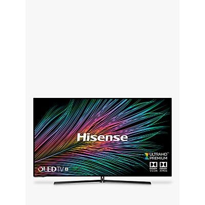 Hisense H55O8BUK (2019) OLED HDR 4K Ultra HD Smart TV, 55 with Freeview Play, Ultra HD Premium Certified, Black
