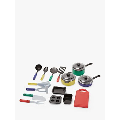 John Lewis & Partners 18 Piece Kitchen Set