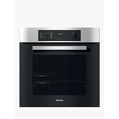 Miele H2265 1b Built In Single Electric Oven A Energy Rating Clean Steel