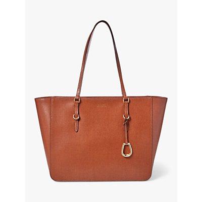Lauren Ralph Lauren Bennington Large Leather Shopper Bag