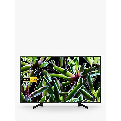 "Sony Bravia KD49XG7093 (2019) LED HDR 4K Ultra HD Smart TV, 49"" with Freeview Play, Black"
