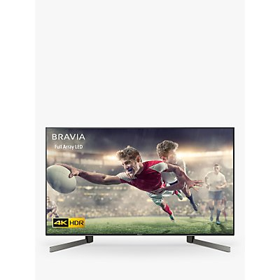Sony Bravia KD49XG9005 (2019) LED HDR 4K Ultra HD Smart Android TV, 49 with Freeview HD & Youview, Black