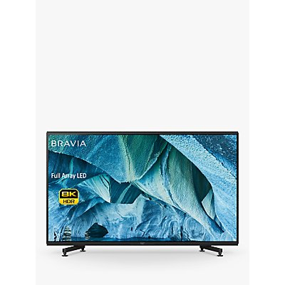 Sony Bravia KD85ZG9 (2019) LED HDR 8K Ultra HD Smart Android TV, 85 with Freeview HD & Youview, Black