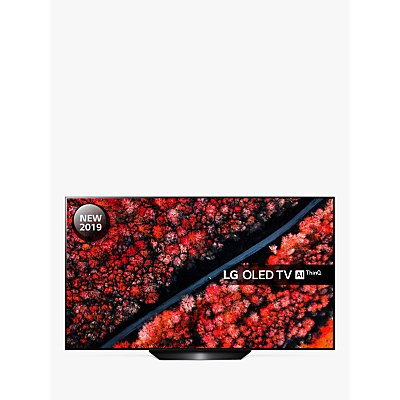 LG OLED55B9PLA (2019) OLED HDR 4K Ultra HD Smart TV, 55 with Freeview Play/Freesat HD, Dolby Atmos & Streamlined Alpine Stand, Ultra HD Certified, Black