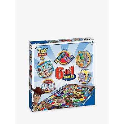 Ravensburger Disney Pixar Toy Story 4 6-in-1 Board Game