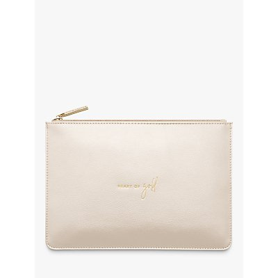 Katie Loxton Heart of Gold Clutch Bag