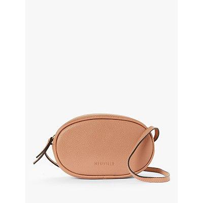 Neuville Ovale Leather Cross Body Bag