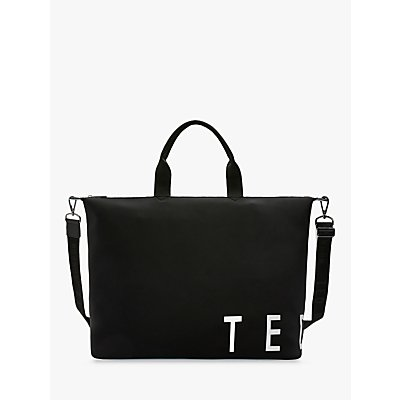 Ted Baker Laurel Large Logo Tote Bag, Black