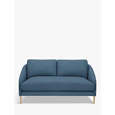 John Lewis & Partners Cape Small 2 Seater Sofa, Light Leg, Hatton Dark Pacific