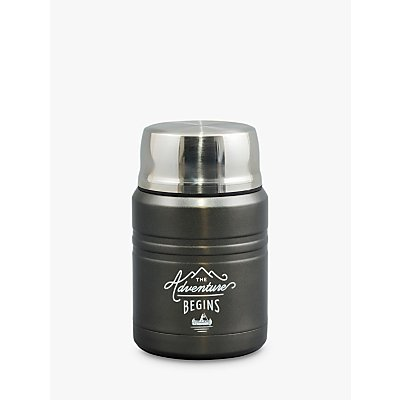 Gentlemen s Hardware Adventure Stainless Steel Food Flask  450ml - 5055923759424