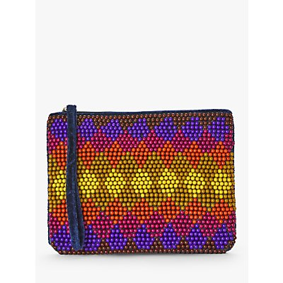Nice Things Colour Therapy Beaded Sling Clutch, Multi