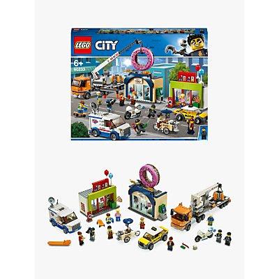 LEGO City 60233 Doughnut Shop Opening
