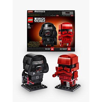 LEGO Star Wars 75232 Kylo Ren & Sith Trooper BrickHeadz